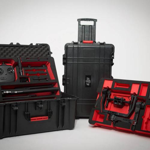 DJI Ronin portability in custom Pelican case