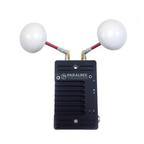 Paralinx Tomahawk Right Hand Circular Polarized cloverleaf antennas